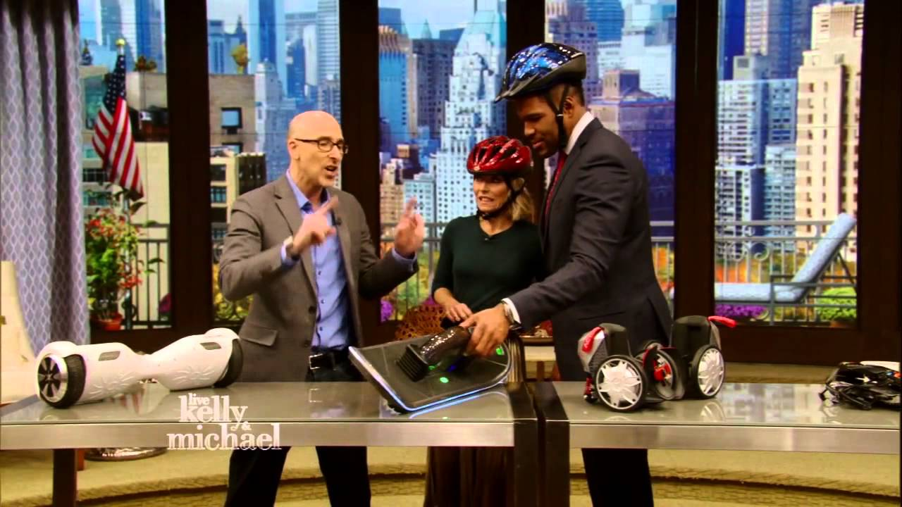 Livewith Kelly and Michael Hoverboards Electric Scooters Mobility