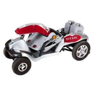 Titan Mobility Scooter Fold Down 2