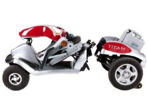 Titan Mobility Scooter Fold Down