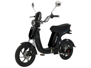 front GigaByke Groove Electrc Moped Scooter 750W