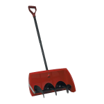 New One Swipe Shovel with snow removal auger