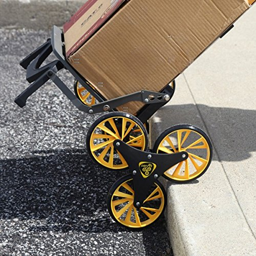 UpCart Stair Climbing All-Terrain Folding Cart curb climbing cart