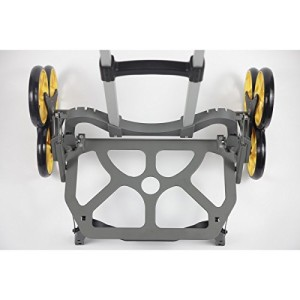 UpCart Stair Climbing All-Terrain Folding Cart top view