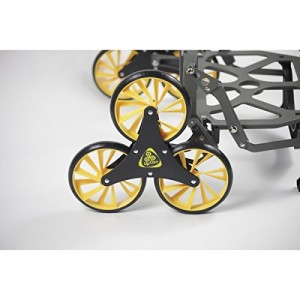 UpCart Stair Climbing All-Terrain Folding Cart wheel closeup