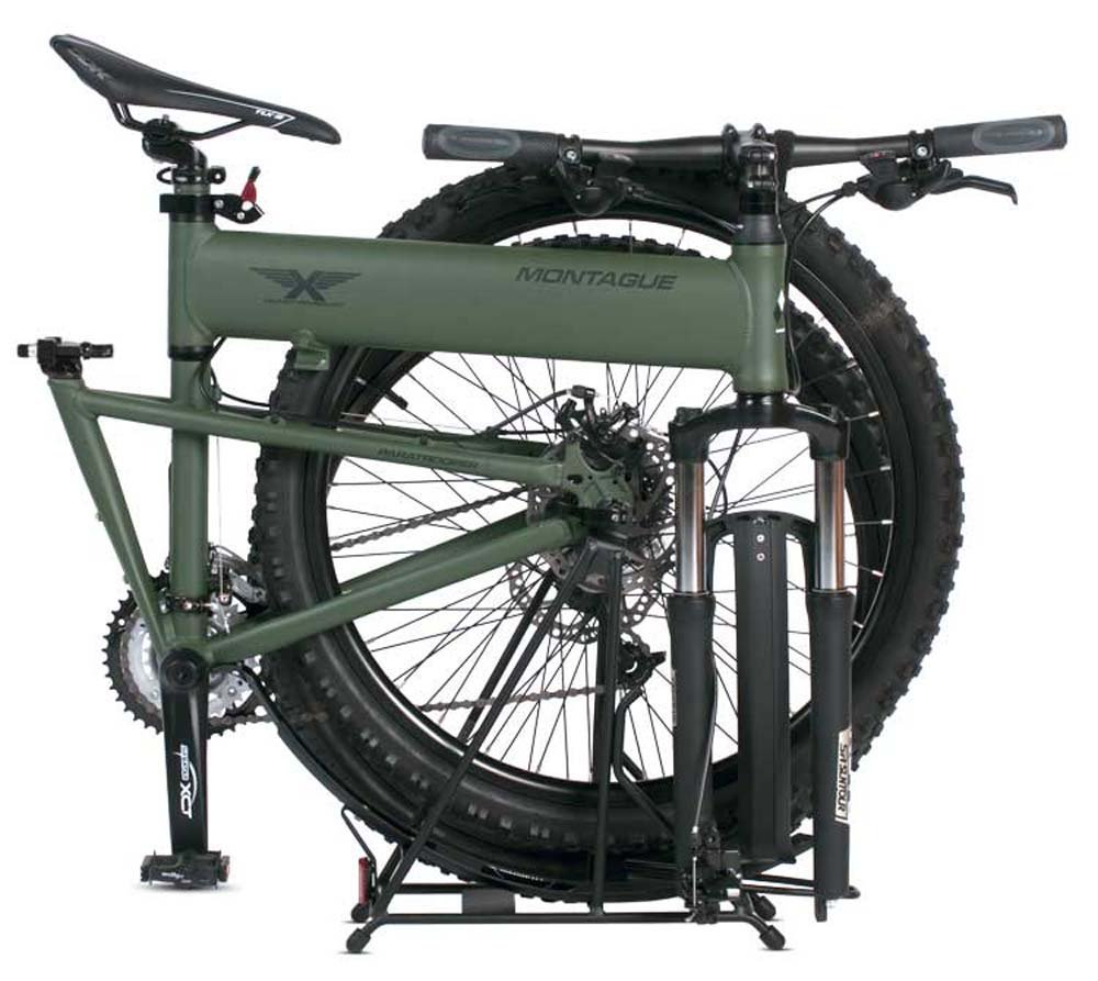 Full Size Folding Mountain Bike Montague Paratrooper