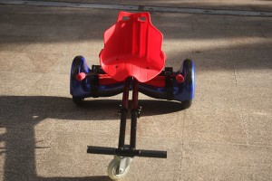 HoverKart Black and Red