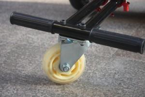 HoverKart front wheel detail