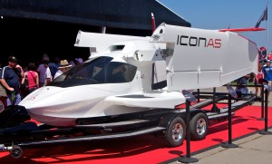 ICON a5 display trailer