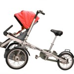 TAGA LAN TRICYCLE BABY CARRIAGE
