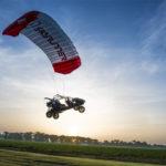 SKY RUNNER Paragliding Dune Buggy All Terrain Flying Vehicle !