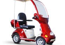 ELECTRIC 4-Wheel Full Covered Scooter